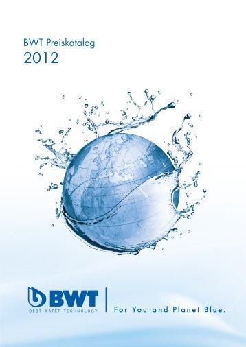 Klassische Wasseraufbereitung - bei BWT Wassertechnik GmbH