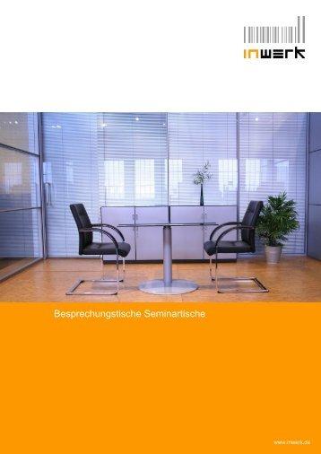Besprechungstische Seminartische - INWERK Büromöbel