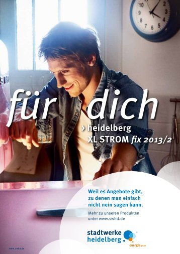 heidelberg XL STROM fix 2013/2 - Stadtwerke Heidelberg