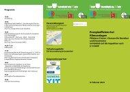 energieeffizienz bei Klimaanlagen - FGK