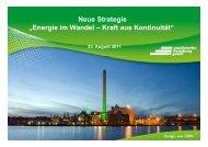 Zur Präsentation - Stadtwerke Flensburg
