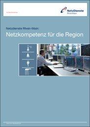 Netzkompetenz für die Region - NRM Netzdienste Rhein-Main GmbH