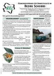 Müllkalender 2013 - Lunz am See