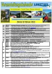 Veranstaltungskalender Jänner-Februar 2013 im ... - Lunz am See