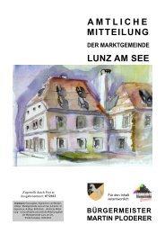 Gemeindezeitung September 2012 - Lunz am See