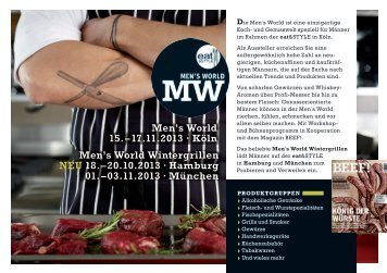 Men's World Wintergrillen neu 18. – 20.10.2013 ∙ Hamburg 01 ...