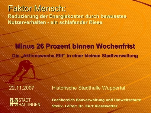Minus 26 Prozent binnen Wochenfrist - NRW spart Energie