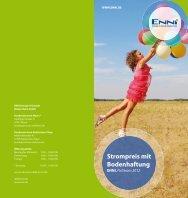 Strompreis mit Bodenhaftung - ENNI