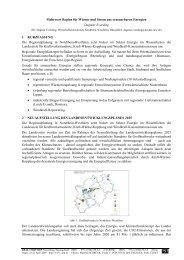 Mehrwert Region für Wärme und Strom aus erneuerbaren ... - CORP