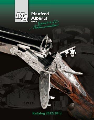 Katalog 2012/ 2013 - Manfred Alberts GmbH