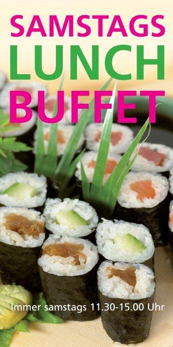 samstags lunch buffet - Mangostin
