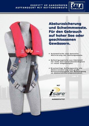 Absturzsicherung und Schwimmweste. Für den ... - Capital Safety