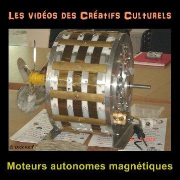 Vidéos moteurs autonomes magnétiques