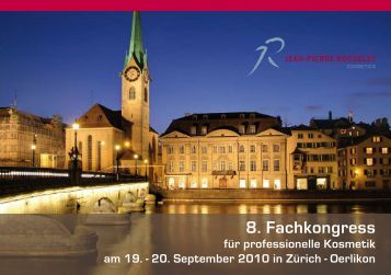 8. Fachkongress - Jean-Pierre Rosselet Cosmetics AG