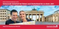 Unterlagen und Überweisungsformular (PDF) - Deutscher Ring