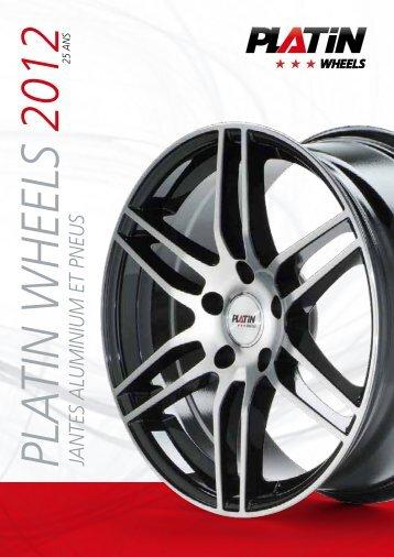 JANTES ALum INIum ET PNEu S - PLATIN wheels