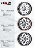 JANTES ALum INIum ET PNEu S - PLATIN wheels - Page 4