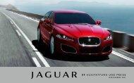 X F AUSSTATTUNG UND PREISE - Jaguar House Kohler