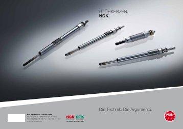 gibt es die Glühkerzen-Broschüre. - NGK Spark Plug Europe GmbH