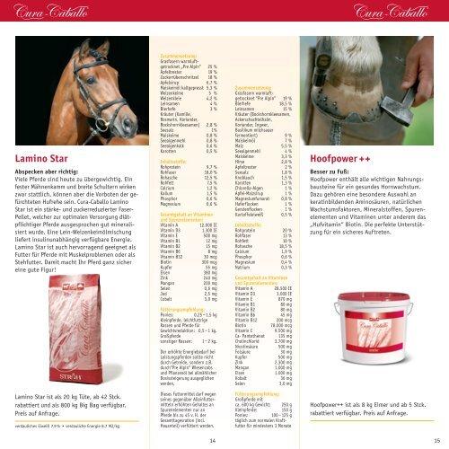 Maßstäblich innere Werte für naturgesunde Pferde - Ströh