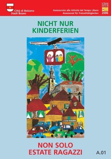 Nicht nur Kinderferien - Comune di Bolzano