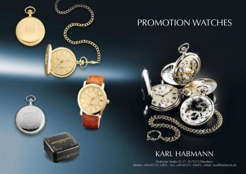 PROMOTION WATCHES - LP Promotion, sro