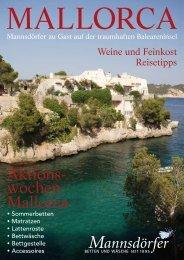 Aktions- wochen Mallorca - Mannsdörfer