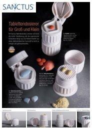 Tablettendosierer - Sanctus GmbH