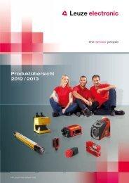 Produktübersicht 2012 / 2013 - Leuze electronic