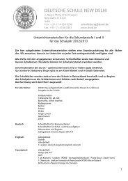 Unterrichtsmaterialien für die Sekundarstufe, PDF - Deutsche ...