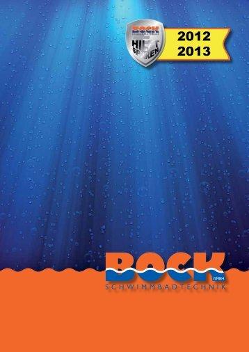 Aktueller Katalog - Bock-schwimmbadtechnik.de