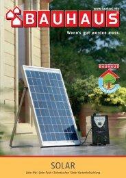 Solar im Garten 2013 - Bauhaus