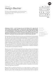 Download Pressemappe als PDF - Stilwerk