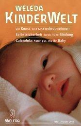 KinderWelt Frühjahr 2003 - Weleda