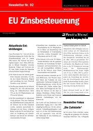 TAX News - Internet Broadcast - Home - Ernst & Young - Schweiz