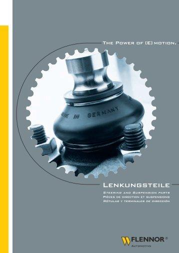 Lenkungsteile - Walther Flender