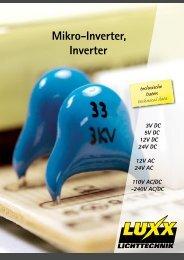 Standard inverter, 12V DC  - Luxx Lichttechnik GmbH