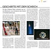 geSCHäFTe miT dem SCHeiCH - Luxx Lichttechnik GmbH