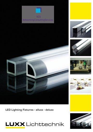 LED Lighting Fixtures - alluxx - deluxx - Luxx Lichttechnik GmbH