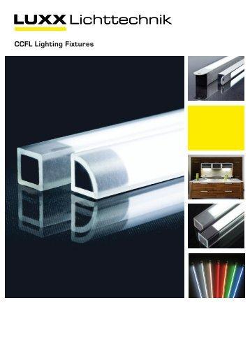 alluxx CCFL Lighting Fixtures - Luxx Lichttechnik GmbH