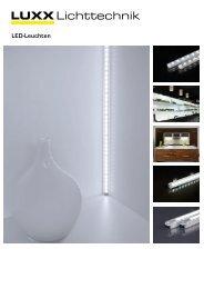 LUXX Lichttechnik - LED-Leuchten 2012 - Luxx Lichttechnik GmbH