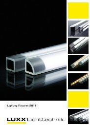 LED Lighting Fixtures - Luxx Lichttechnik GmbH