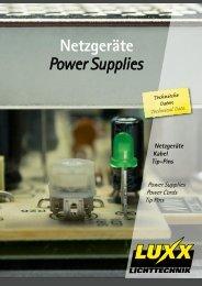 power supplies - Luxx Lichttechnik GmbH