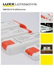 EN61347-2-13 LED-Konverter - Luxx Lichttechnik GmbH