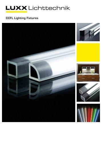 CCFL Lighting Fixtures - Luxx Lichttechnik GmbH