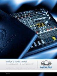 Mixer & Powermixer