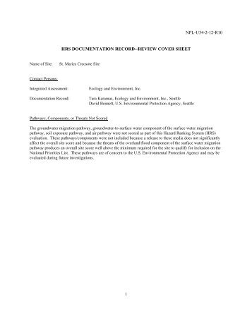 npl-u34-2-12-r10 hrs documentation record - US Environmental ...
