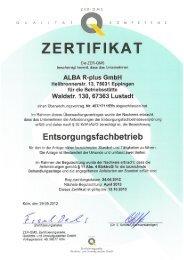 ALBA R-plus GmbH