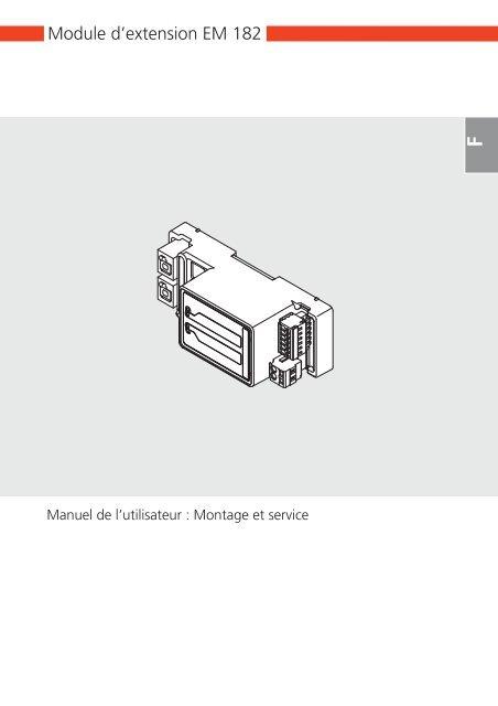Module d'extension EM 182 - Marantec