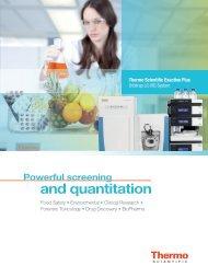 Thermo Scientific Exactive Plus Orbitrap LC-MS System
